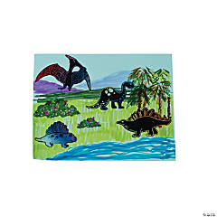 Dinosaur Magic Scratch Stickers