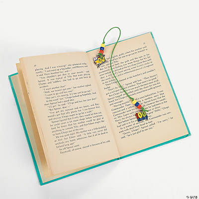 100th Day of School Charm Bookmark Craft Kit