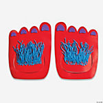 24 Wild Monster Feet Craft Kit