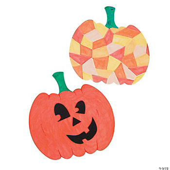 DIY Pumpkin Cutouts