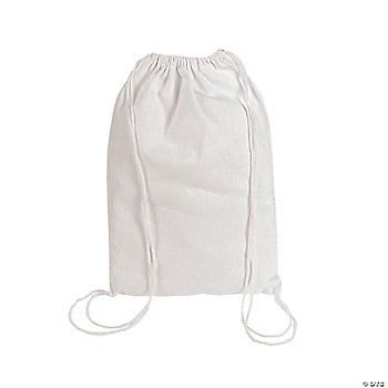 DIY White Backpacks