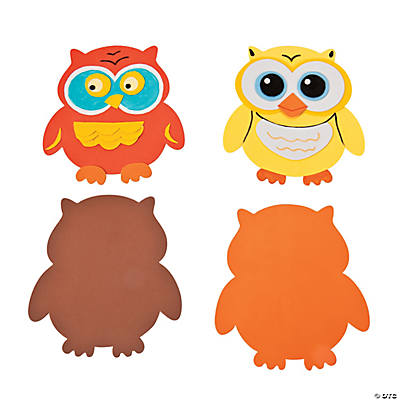Jumbo Owl Shapes