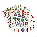 500 Pc. Kids Around the World Foam Shapes