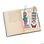 Color Your Own Christmas Bookmarks