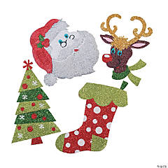 Christmas Glitter Art Craft Kit