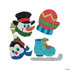 Winter Glitter Art Craft Kit