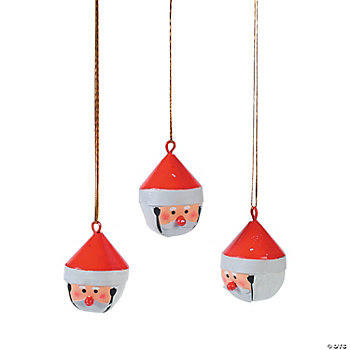 Santa-Shaped Jingle Bells