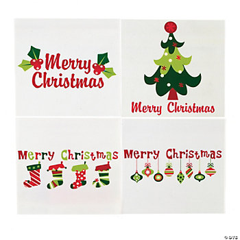 Christmas Iron-On Transfers