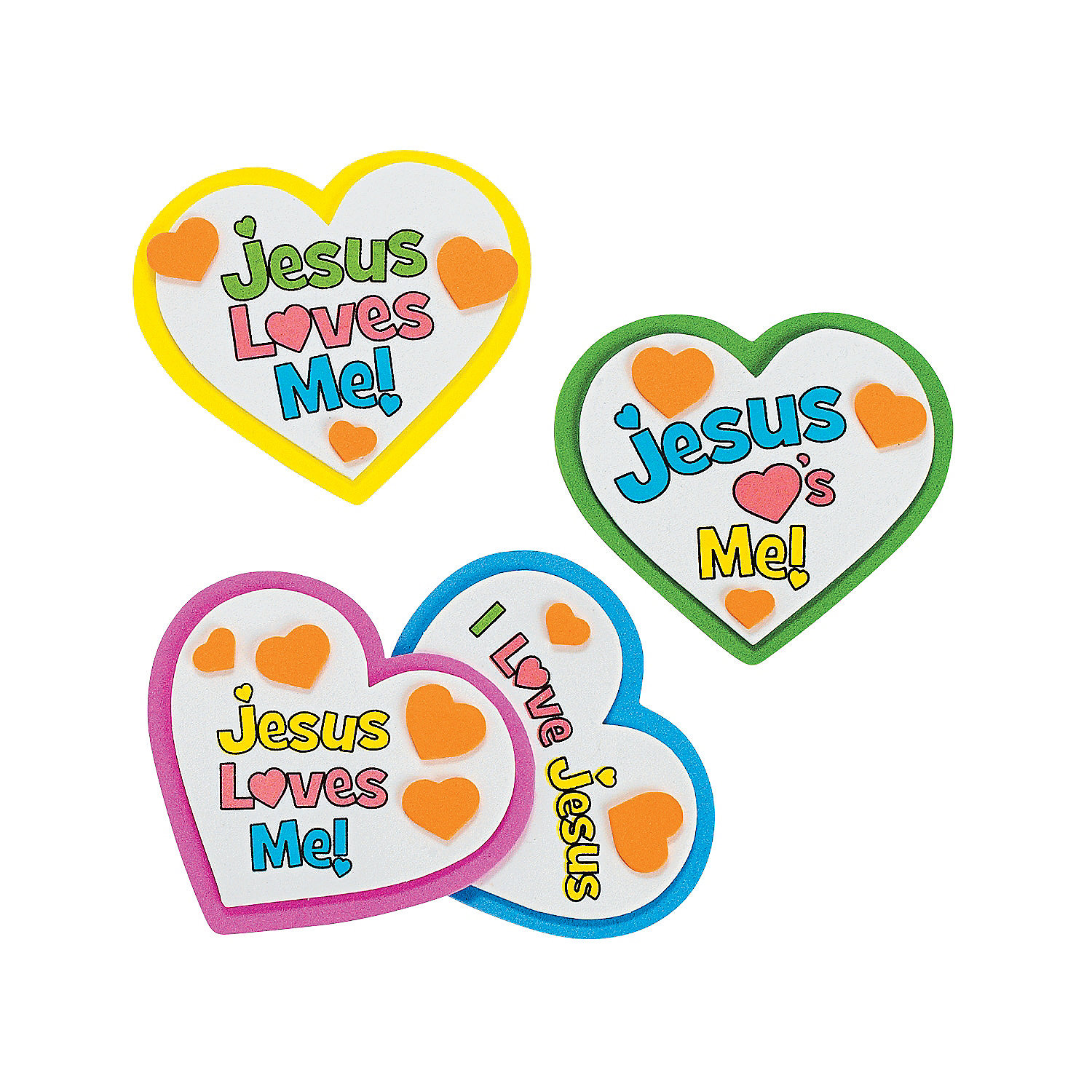 Jesus Loves Me Crafts For Toddlers