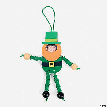 Leprechaun Photo Frame Ornament Craft Kit