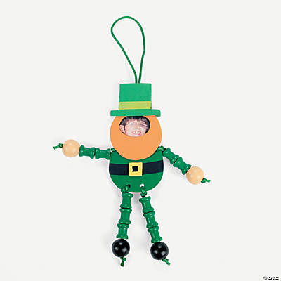 Leprechaun Picture Frame Ornament Craft Kit
