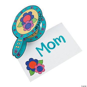 """Mom"" Mirror Cards"