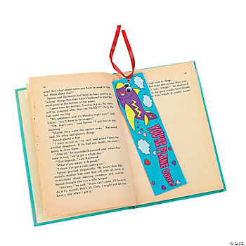 "Color Your Own ""Plane Cool"" Valentine Bookmarks"