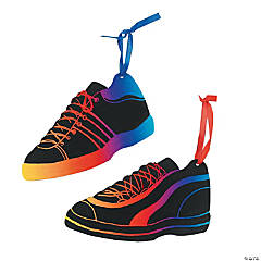 Magic Color Scratch Tennis Shoe Ornaments