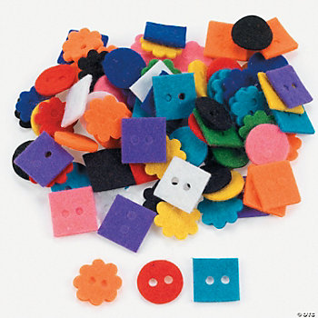 Felt Button Assortment