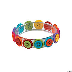 Button Bangle Bracelet Craft Kit