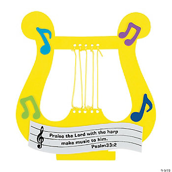 """Praise The Lord"" Harp Craft Kit"