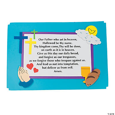 The Lord's Prayer Place Mat Craft Kit