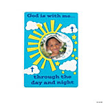 """God Is With Me"" Photo Frame Magnet Craft Kit"