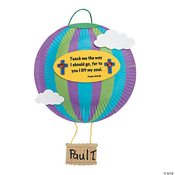 Paper Plate Hot Air Balloon Craft Kit