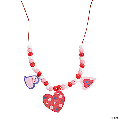 Heart Necklace Craft Kit