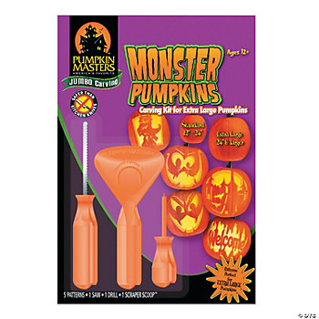 Jumbo Pumpkin Carving Kit