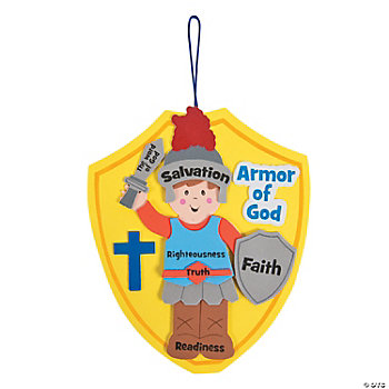 """Armor Of God"" Craft Kit"