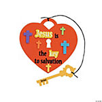 """Jesus Is the Key"" Craft Kit"