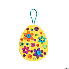 Egg Button Ornament Craft Kit