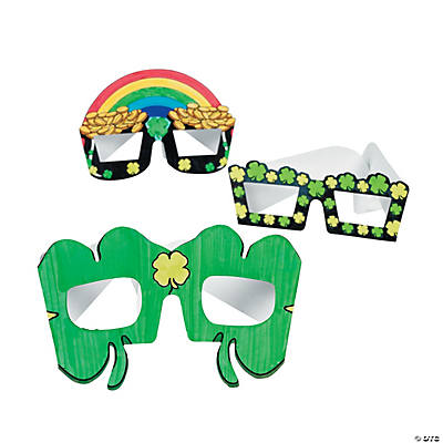 Color Your Own St. Patrick's Day Shades