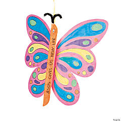 Color Your Own Good News Butterfly