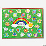 Color Your Own Thank God for Moms Bulletin Board Set