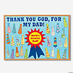 DIY Thank God for Dads Bulletin Board Set