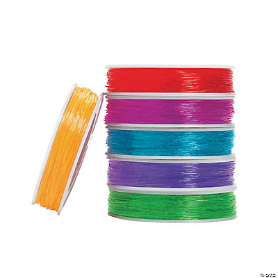 Super Bright Colors Stretchy Cording