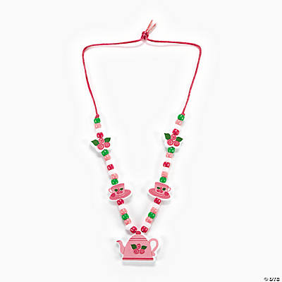 Teapot Necklace Craft Kit