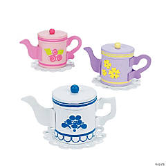Tea Pot Treat Holder Craft Kit