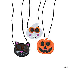 Halloween Reflector Necklace Craft Kit