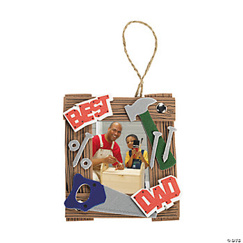 """Dad"" Tool Photo Frame Ornament Craft Kit"