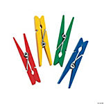 Bright Colored Clothespins