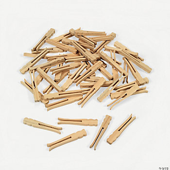 No Roll Clothespins