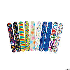 Patterned Craft Sticks