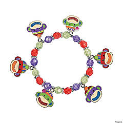 Sock Monkey Charm Bracelet Craft Kit