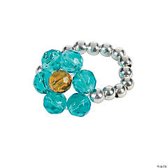 Beaded Flower Ring Craft Kit