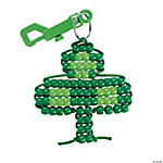 Shamrock Pony Bead Craft Kit