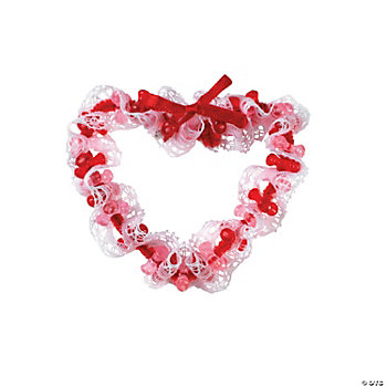 Red Tri-Bead Heart Pin Craft Kit
