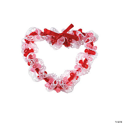 Red Tri-Bead Heart Pin Valentine Craft Kit