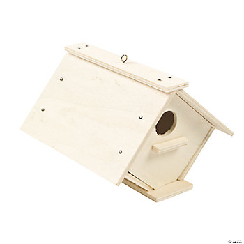 DIY Wood Birdhouse Craft Kit
