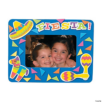 Fiesta Photo Frame Magnet Craft Kit