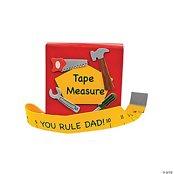 """You Rule"" Father's Day Tape Measure Craft Kit"