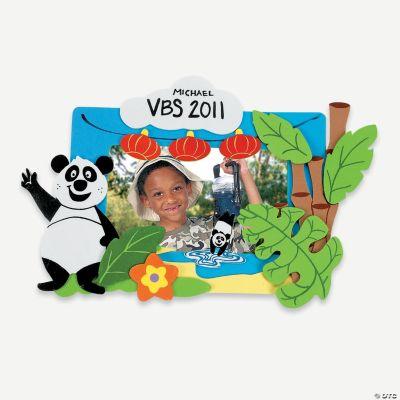 Panda Picture Frame Magnet Craft Kit